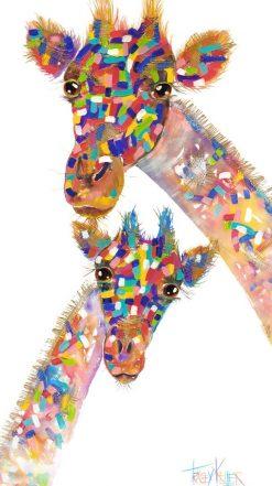 giraffe-&-bub-textured-print