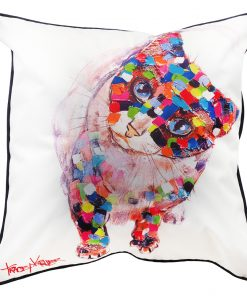 cat-sit cushion cover tracey keller