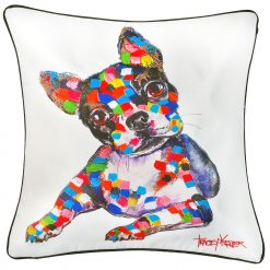 Boss Cushion Cover French Bulldog Indoor/Outdoor Cushion Cover