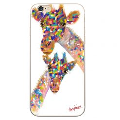 Giraffe and Bub iPhone Case