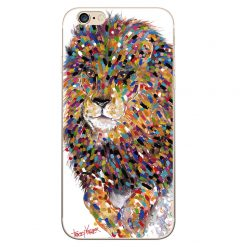 Jumping Lion iPhone Case