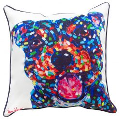 Staffy Cushion Cover Dog Puppy Tracey Keller