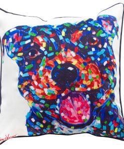 Staffy Cushion Cover Dog Puppy Tracey Keller