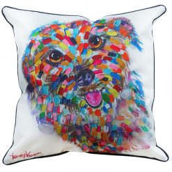 Terrier Cushion Cover Tracey Keller