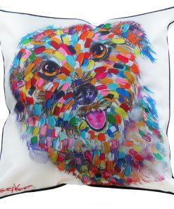 Terrier Cushion Cover Tracey Keller