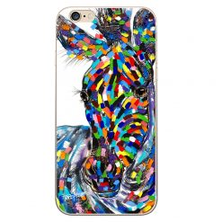 zachary zebra iPhone Case